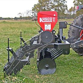 Min-till drill for pasture renovation, wildlife habitats and erosion control.