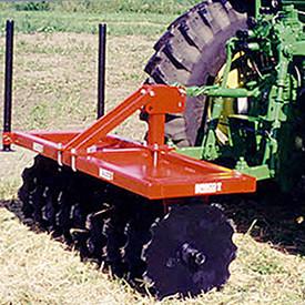 Krimper soil stabilization tools and landscape equipment.