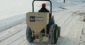 Sand / Salt spreaders from Kasco.
