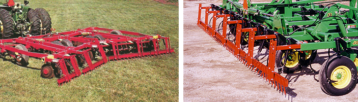 Drag bar harrows, part of Kasco's agricultural equipment