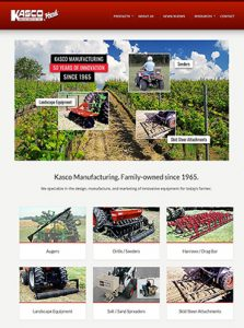 New website for Kasco Manufacturing