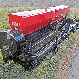 Pivot Solid-Stand high capacity seeder drill.