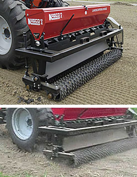 Landscaper's Choice seeder drill.
