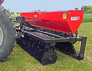 Vari-Slice seeder drills for reclamation from Kasco.